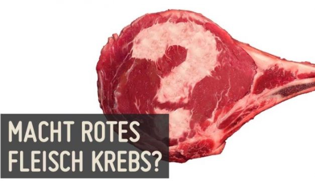 Macht rotes Fleisch Krebs?