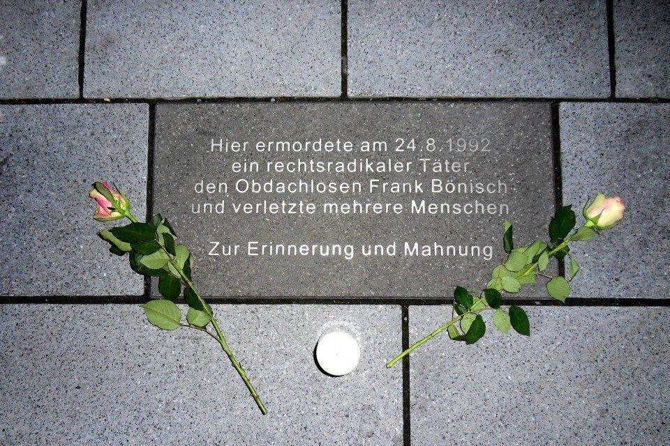 """Initiative """"Kein Vergessen Koblenz"""" erinnert an Mord und warnt vor rechter Gewalt"""